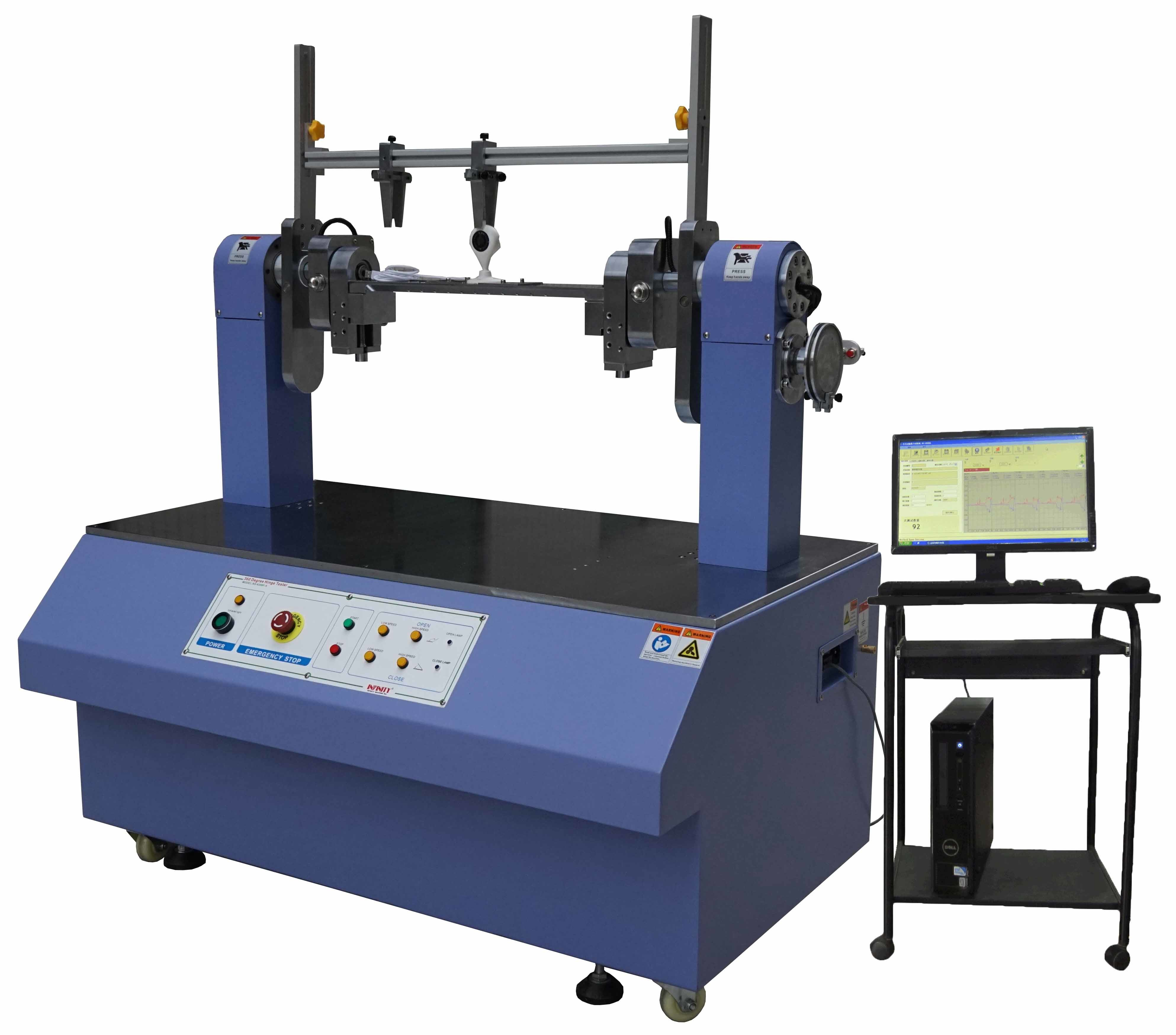 360 Degree Servo Control Automatic Torsion Testing Machine for Notebook LCD TV DVD Single Hinge