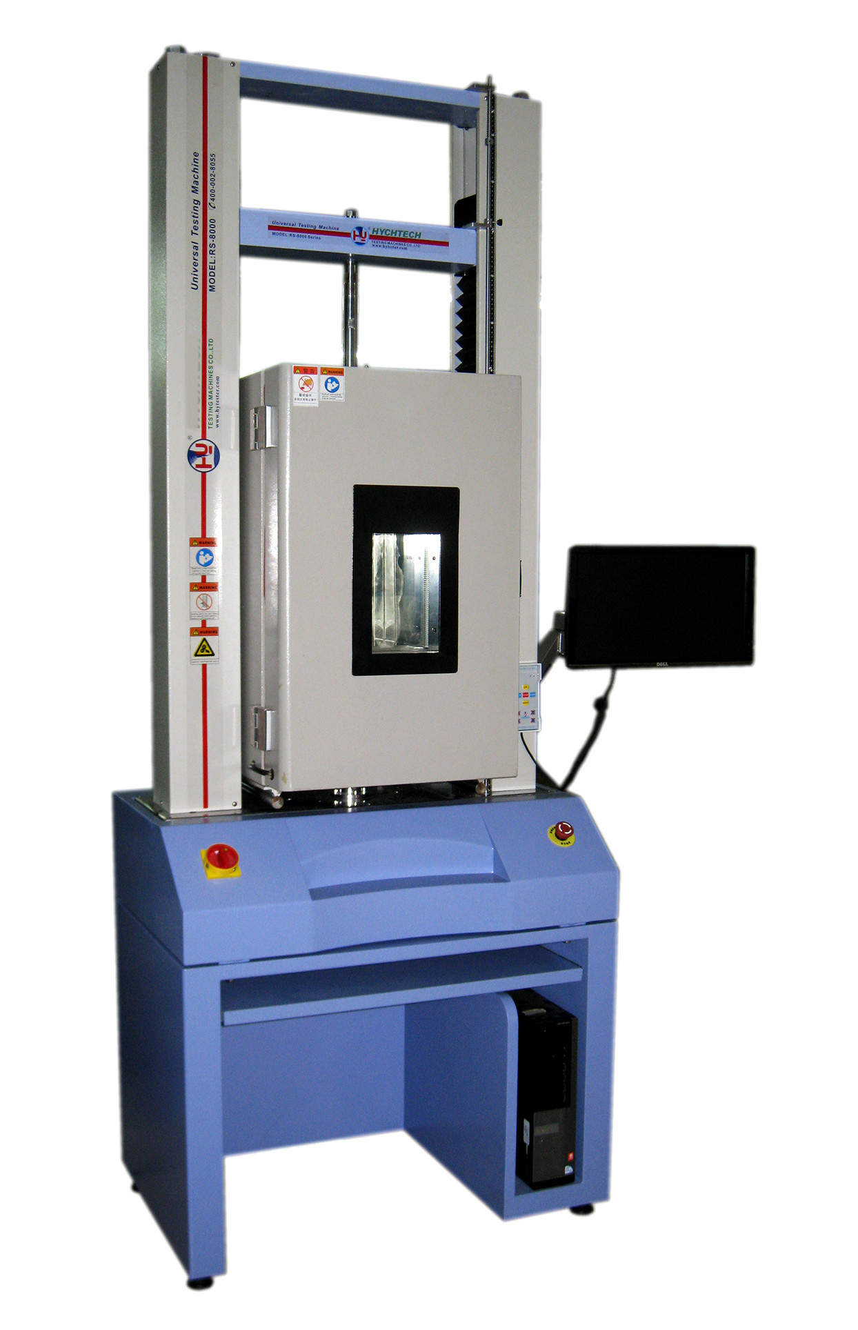 High And Low Temperature Tensile Testing Machine In UTM 20KN / 50KN Capacity